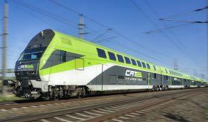 City Airport Train auf offener Strecke zwischen Wien Mitte und Flughafen Wien (C) Zinner