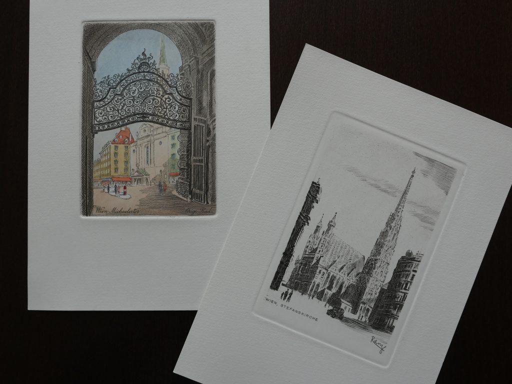 Kupferdruck Aus Wien Kaiserstadt Wien